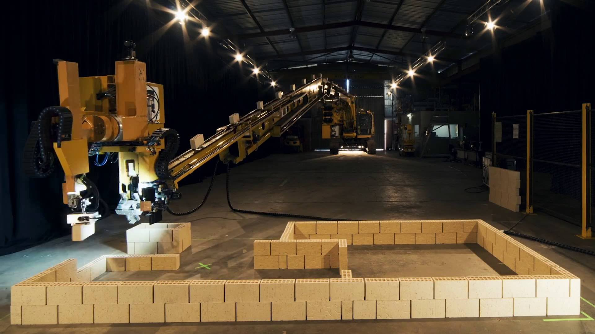Visual of This Robot Builds a House in Two Days