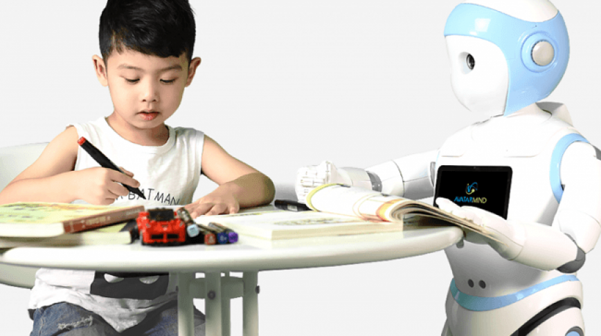 Visual of This Robot Takes Care of Your Children
