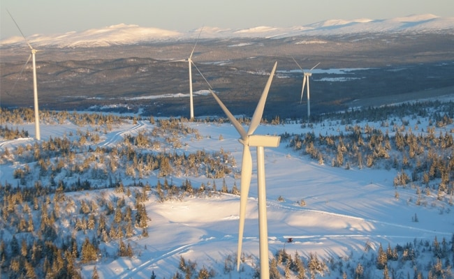 Visual of The Scandinavian Winds Power Your Internet