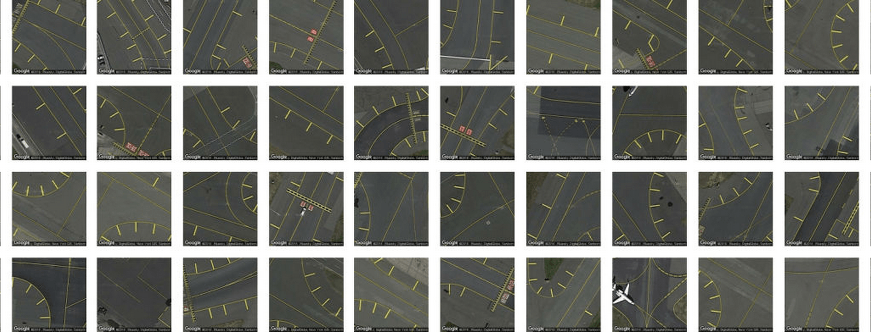 roads gathered with terrapattern