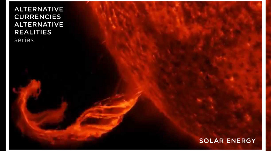 Visual of Solar Energy: the Hottest New Currency