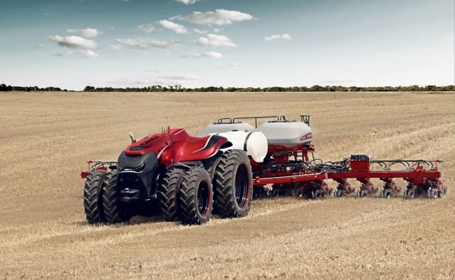 Visual of The Autonomous Tractor Is Here
