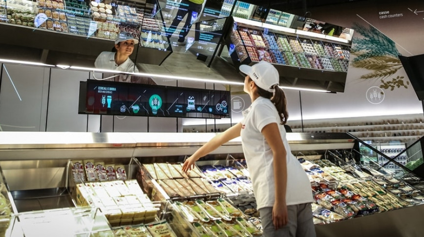 Visual of The Interactive Supermarket
