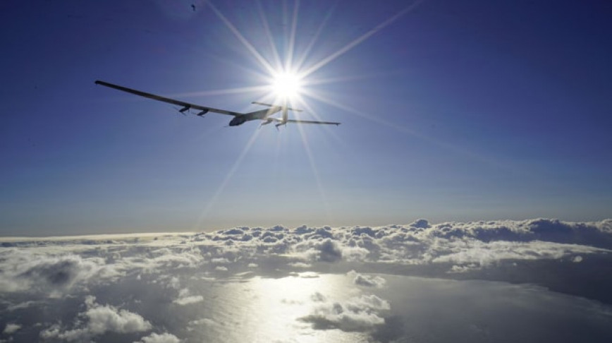 Visual of Using Solar Powered Drones as Satellites
