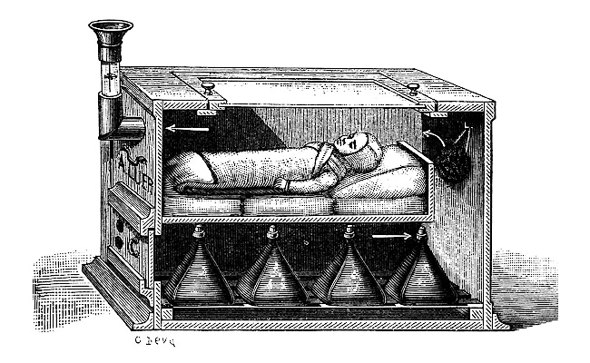 Visual of 1857 - The First Baby Incubators
