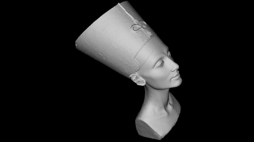 Visual of 3D Print Your Own Nefertiti Bust