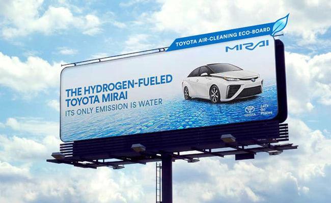 Visual of Air Purifying Billboards