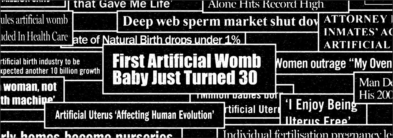 Visual of Ectogenesis, Artificial Womb, Human Egg?