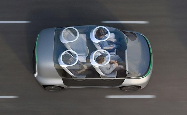 Visual of Carpooling into the Future