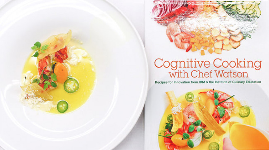 Visual of Cognitive Cooking with Chef Watson