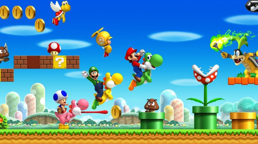 Visual of The Digital Mythology of... Super Mario