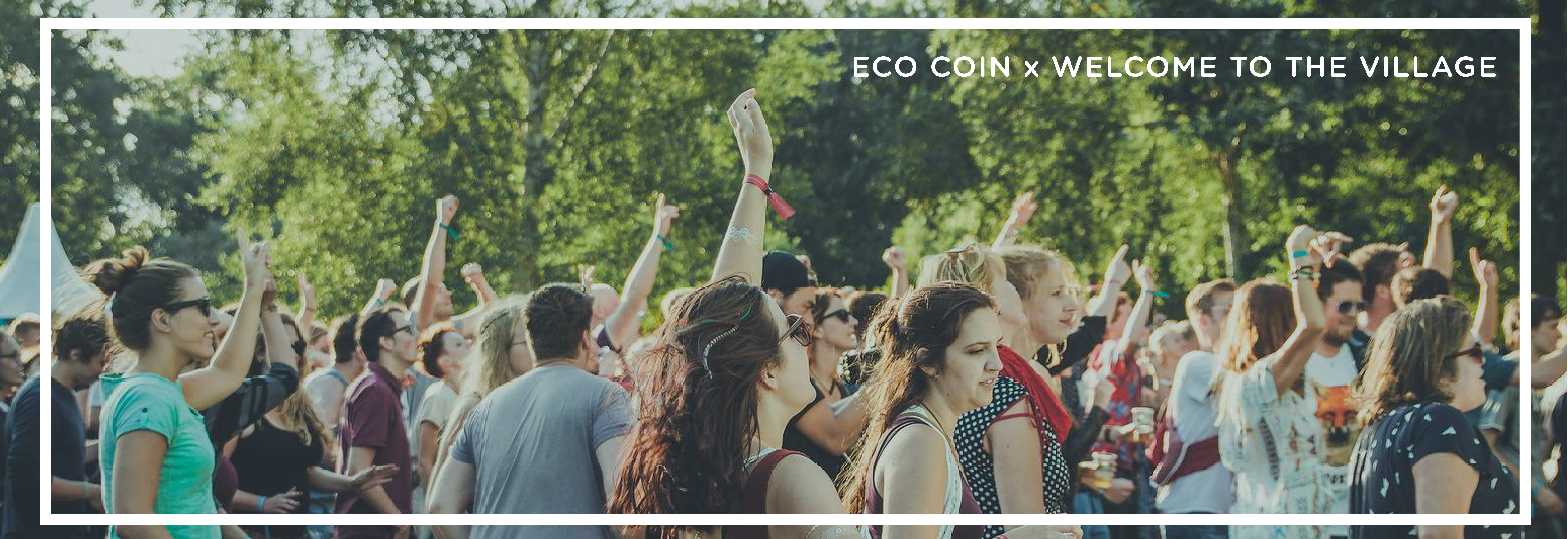 Visual of ECO Coin at Welcome to the Village