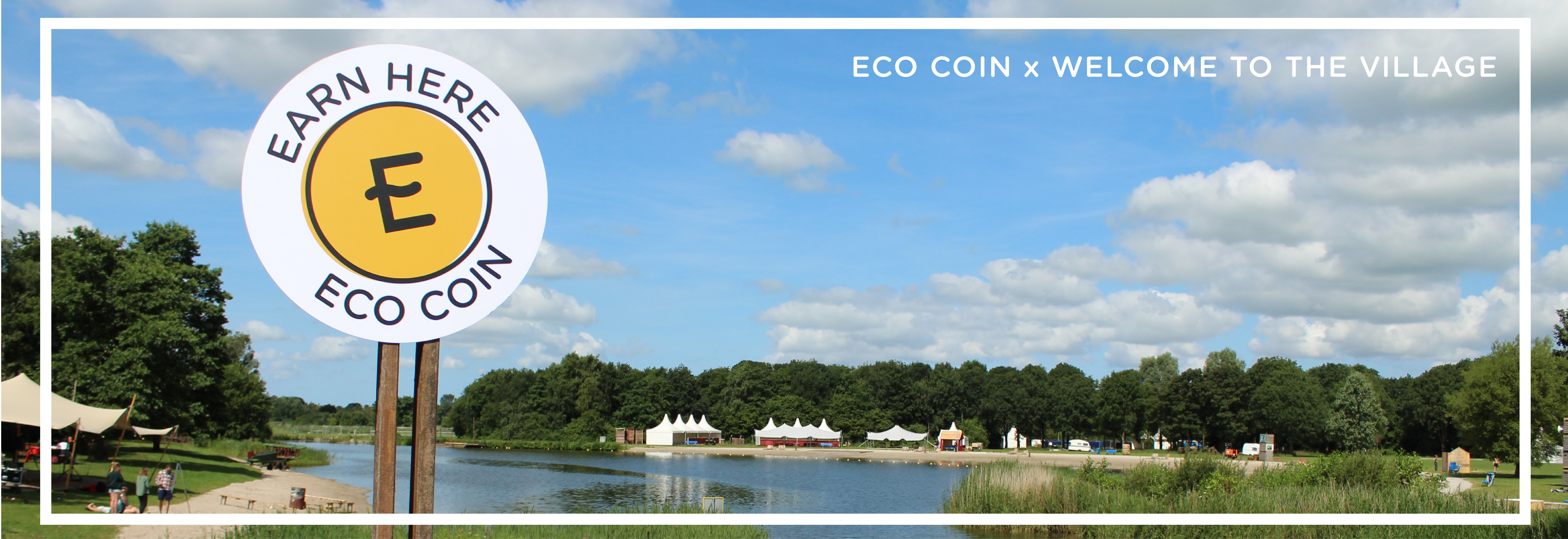 Visual of ECO Coin Lab at Welcome to the Village