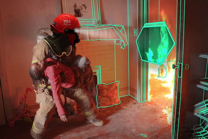 Visual of The Future of Firefighting