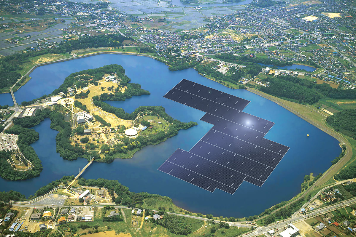 Visual of Floating Green Power