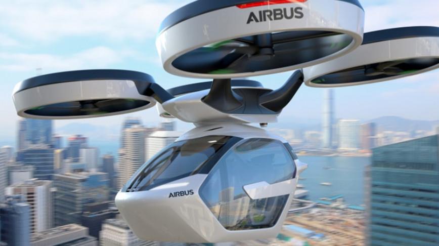 Visual of Flying Car Modular Transport System