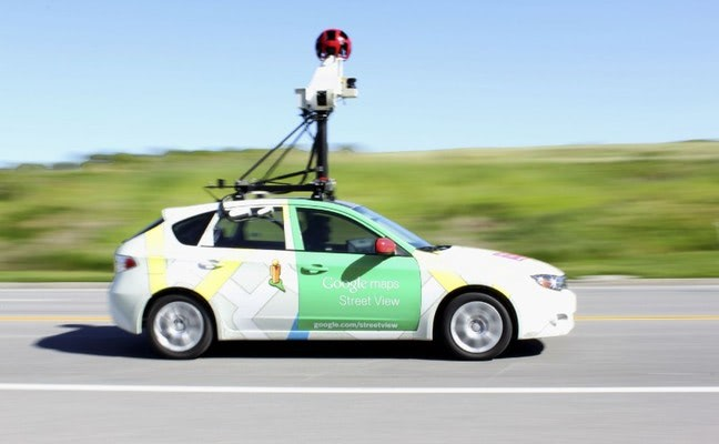 Visual of Google Cars Can Now Sniff Out Pollution