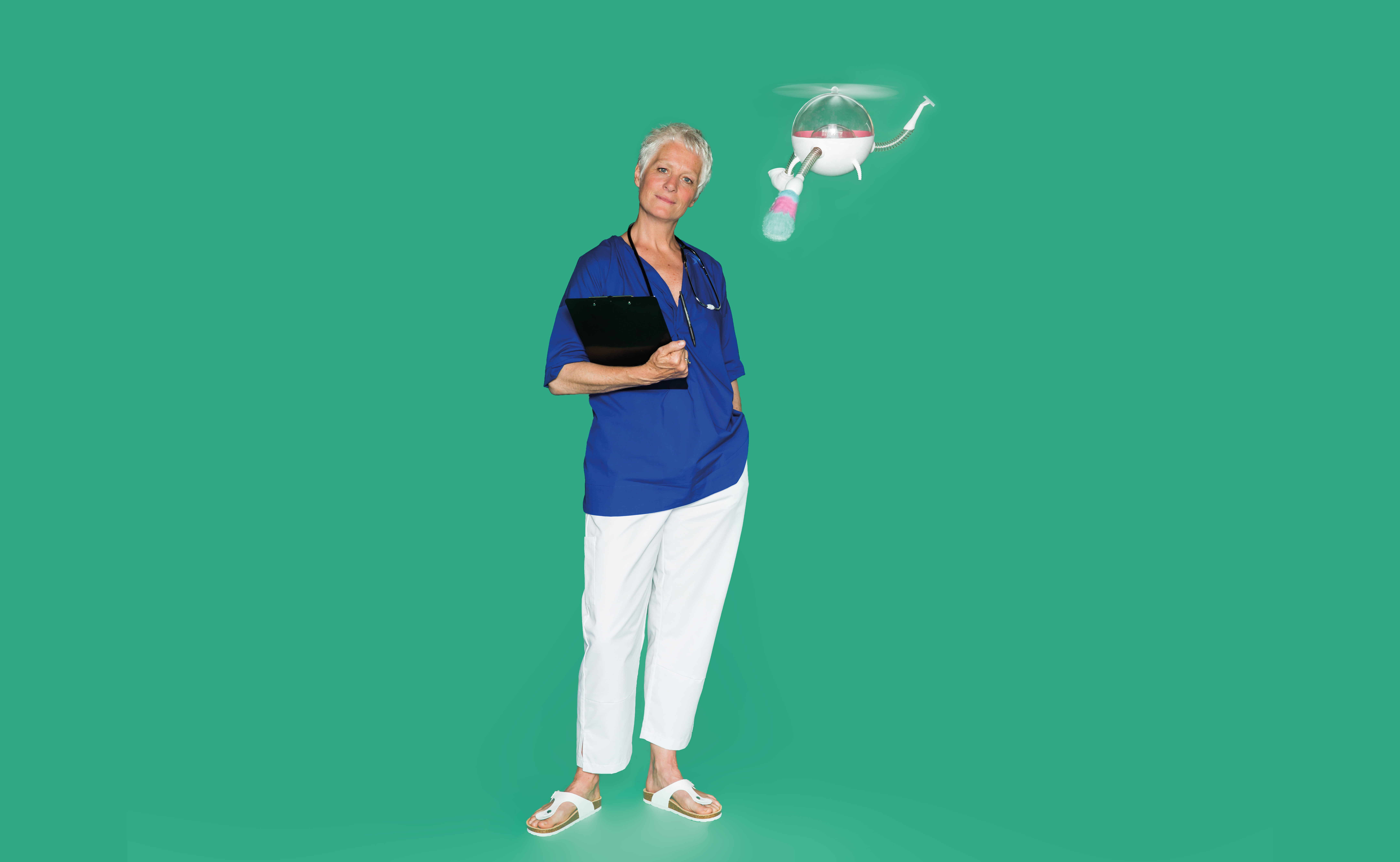 Visual of HUBOT: Meet the Home Healthcare Professional