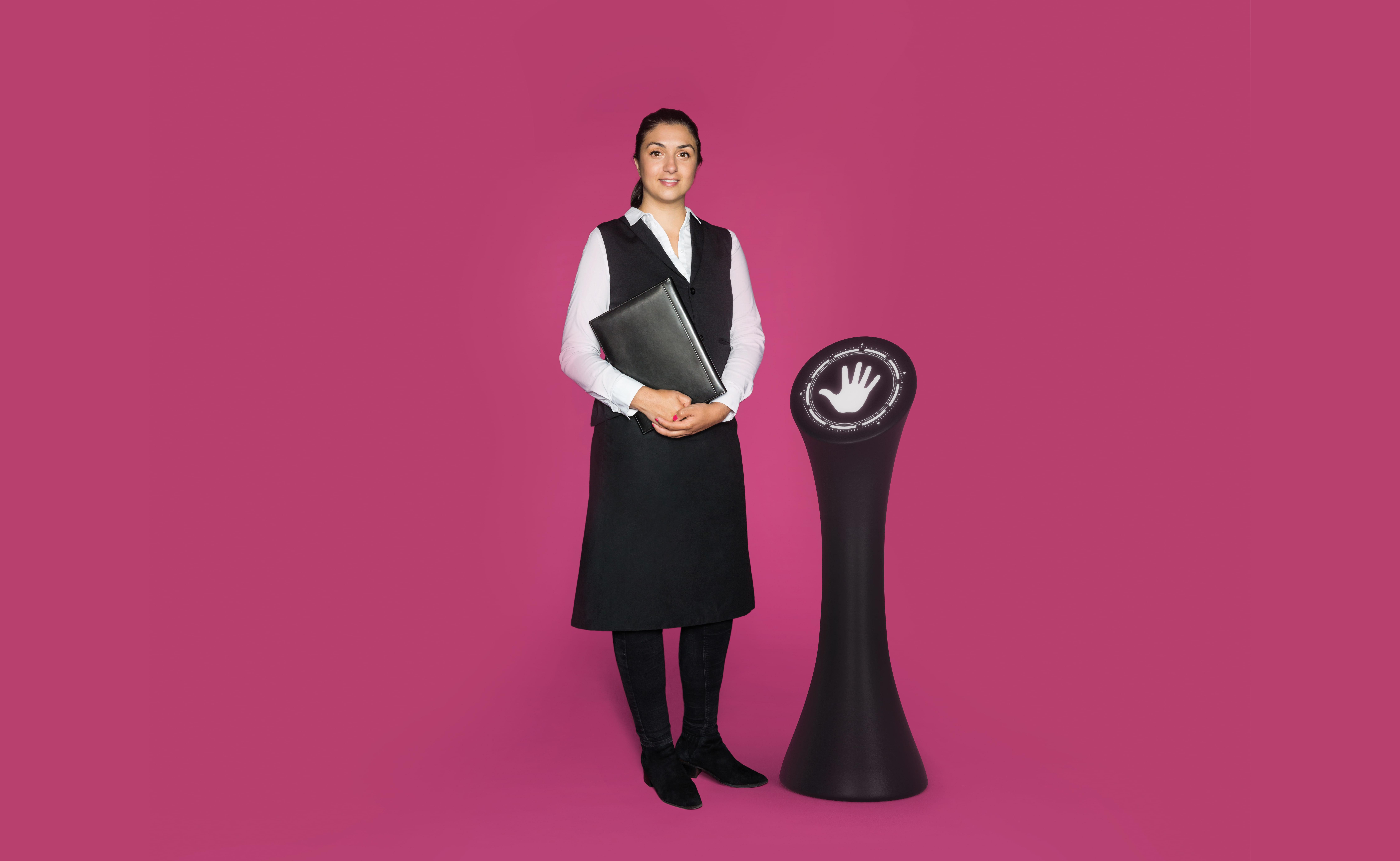 Visual of HUBOT: Meet the Data Waiter