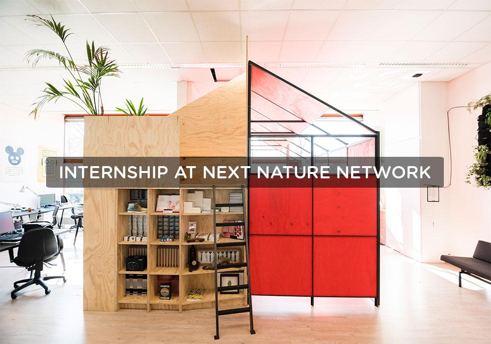 Visual of Internship at Next Nature Network