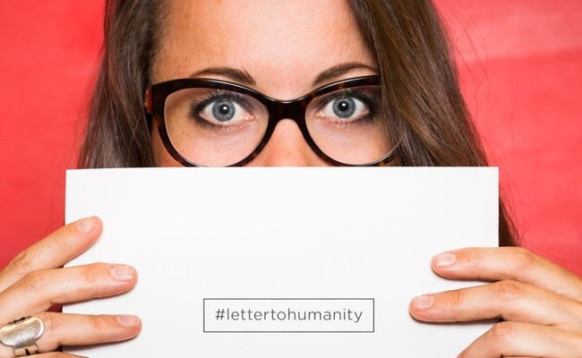 Visual of Letter to Humanity in 25 Languages, Plus One!