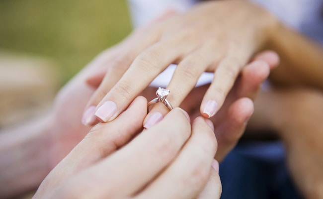 Visual of Payment by Wedding Ring