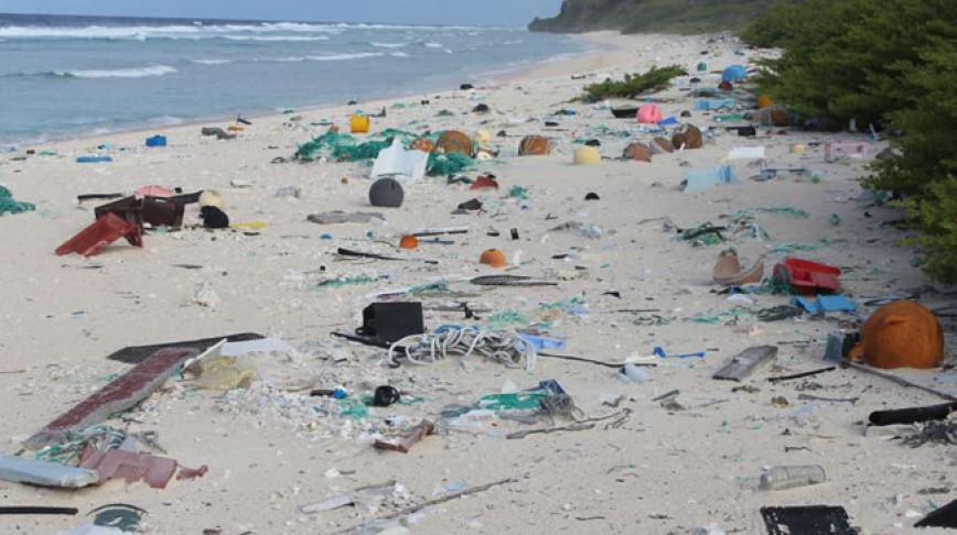 Visual of Plastic Beach