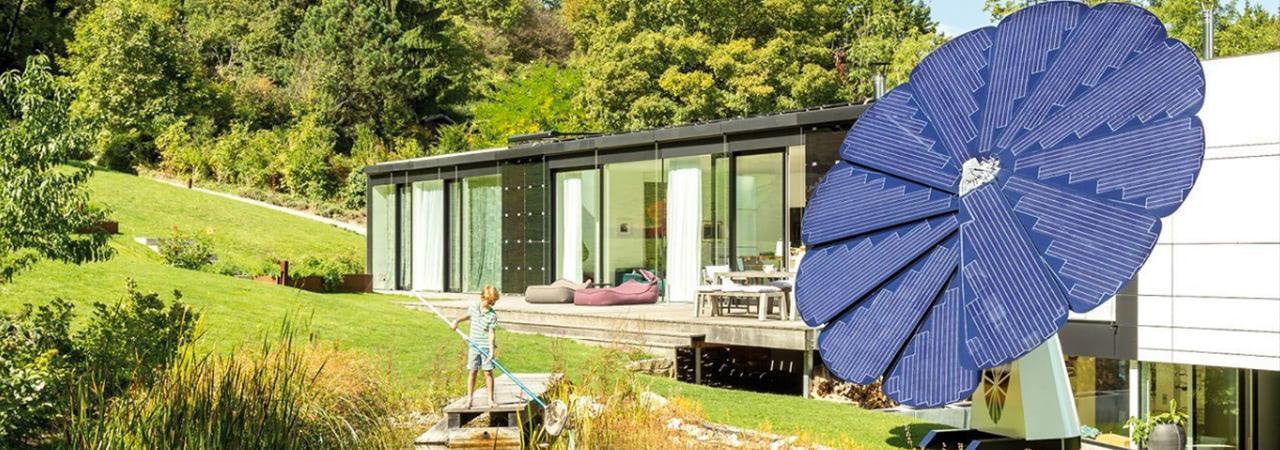 Visual of Smartflower Solar Device