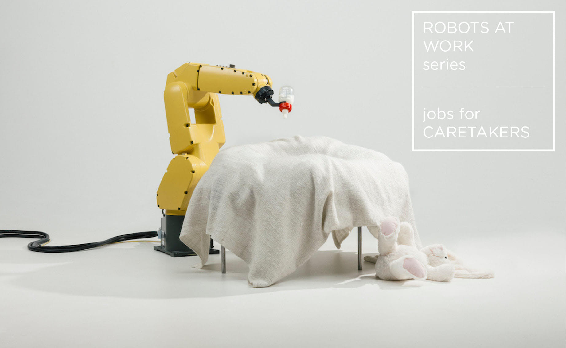 Visual of Jobs for Caretakers - Robots at Work #1