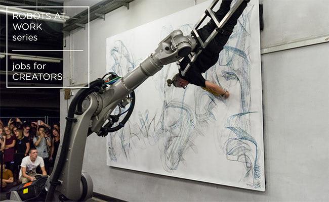 Visual of Jobs for Creators - Robots at Work #2