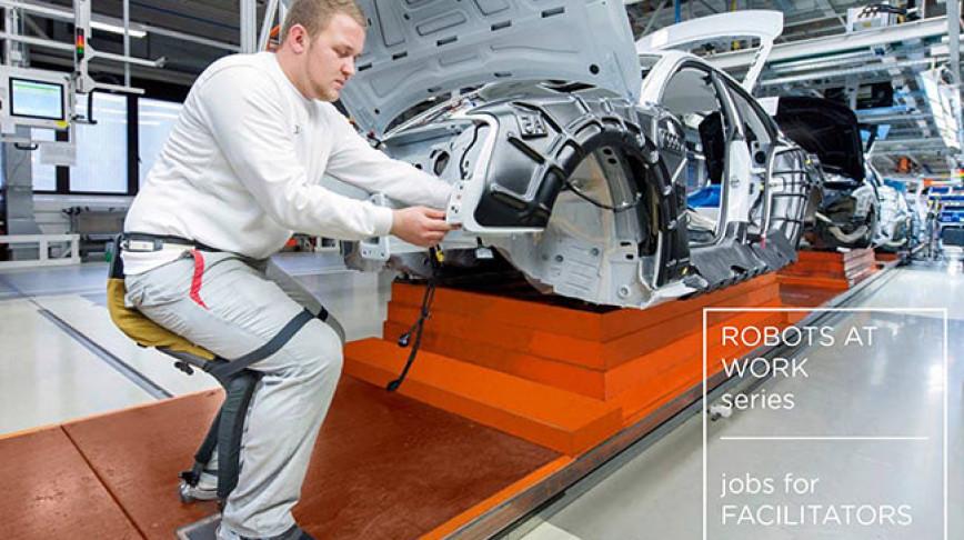 Visual of Jobs for Facilitators - Robots at Work #3