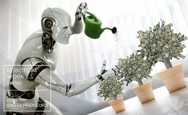 Visual of Jobs for Entrepreneurs - Robots at Work #4