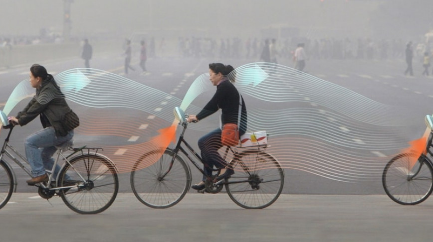 Visual of Smog Free Bicycles
