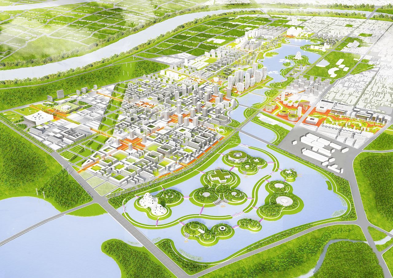 Visual of Sponge Cities: Soak It, Store It, Reuse It