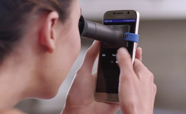 Visual of Your Smartphone Is Your New Eye Doctor