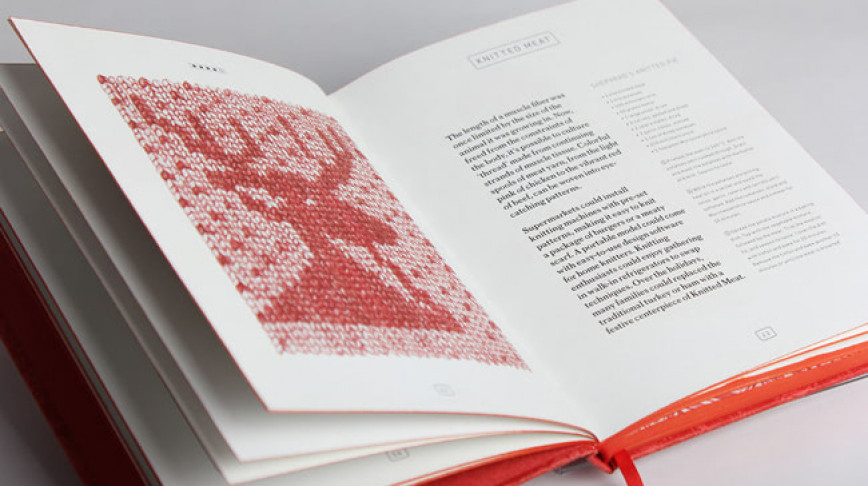 Visual of The In Vitro Meat Cookbook Is Officially Art