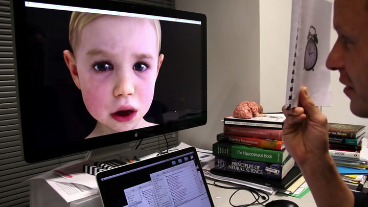 Visual of Virtual Baby Acts and Looks Impossibly Real