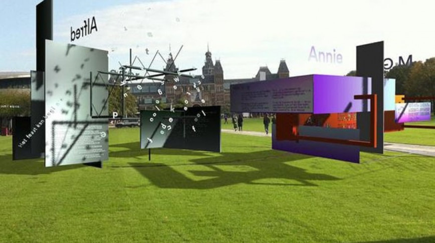 Visual of Virtual Poetry Museum Opens in Amsterdam