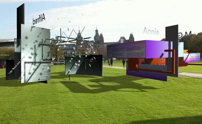 Visual of Virtual Poetry Museum Opens in Amsterdam