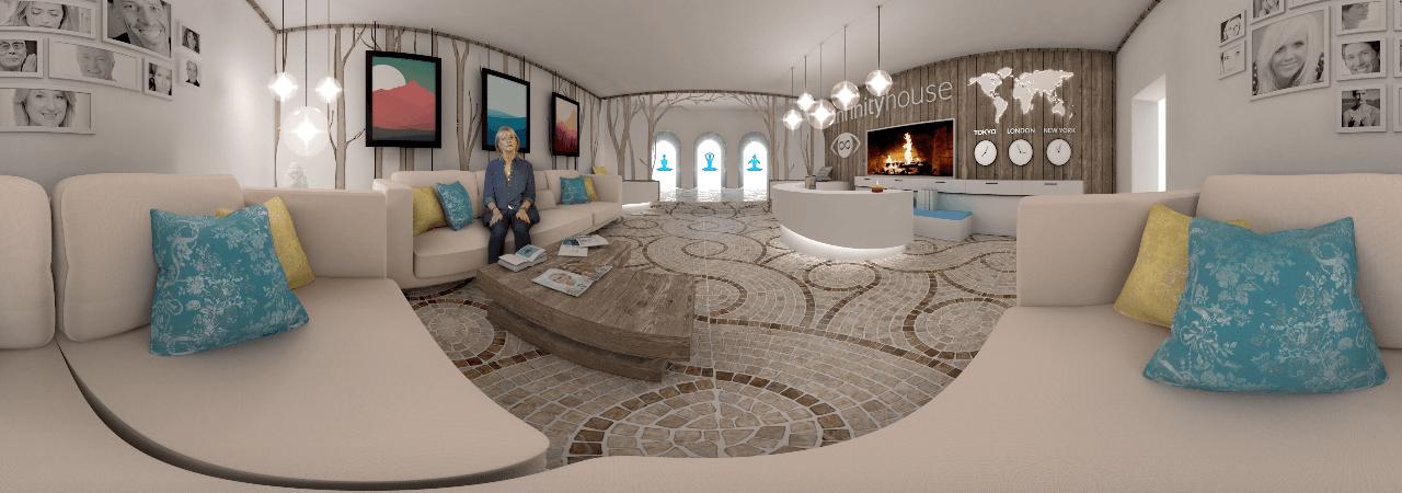 Visual of A Virtual Reality Retreat