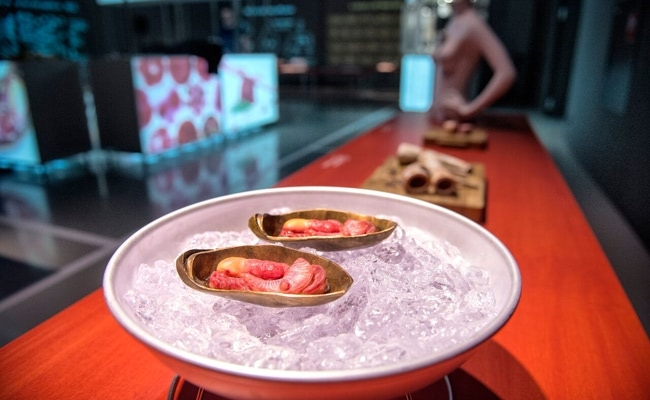 Visual of Meat the Future Exhibition: Appetizer