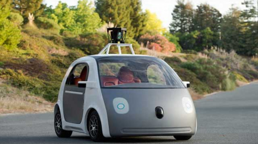 Visual of Anthropomorphism Puts a Friendly Face on Autonomous Vehicles