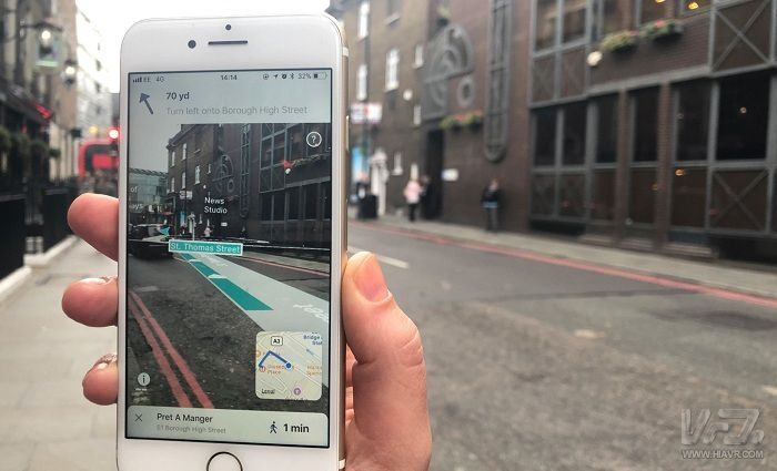 Visual of AR City: Paving the Way for Augmented Reality Navigation