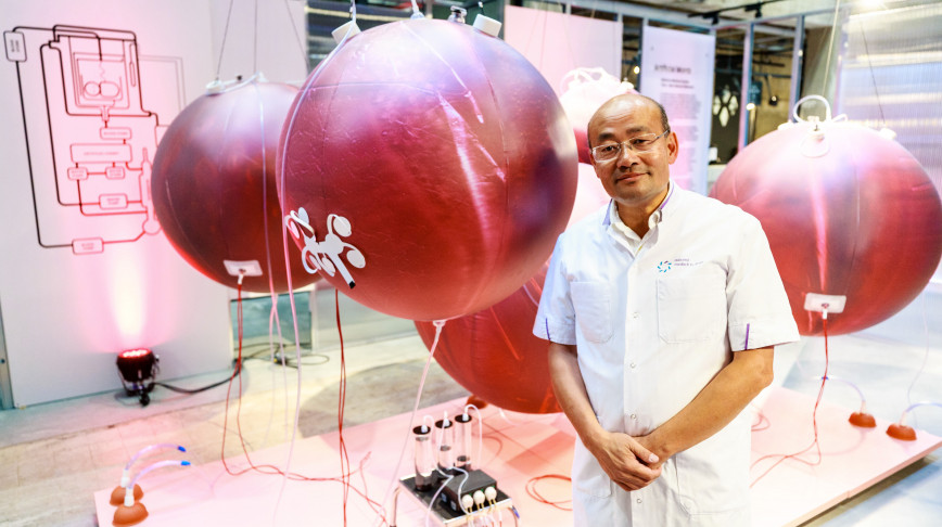 Visual of What an artificial womb may look like in the future