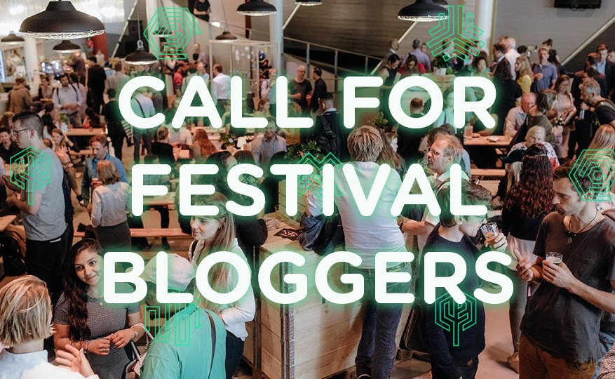 Visual of Next Nature Network x Border Sessions: <br> Calling for festival bloggers!
