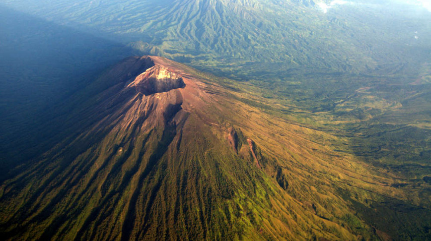 Visual of Drones Protect Indonesia from Volcanic Danger
