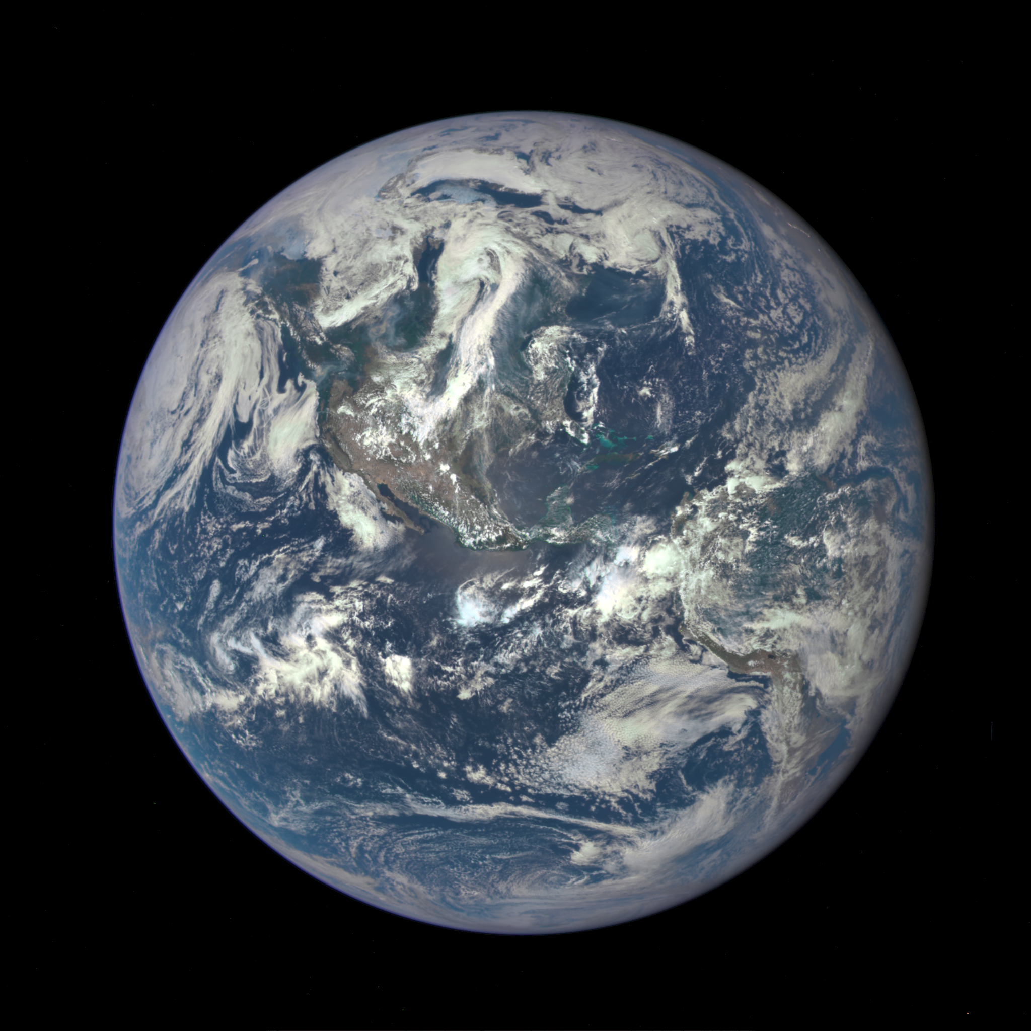 """Visual of Earth is so strongly impacted by its human inhabitants that it's now a """"hybrid planet"""""""