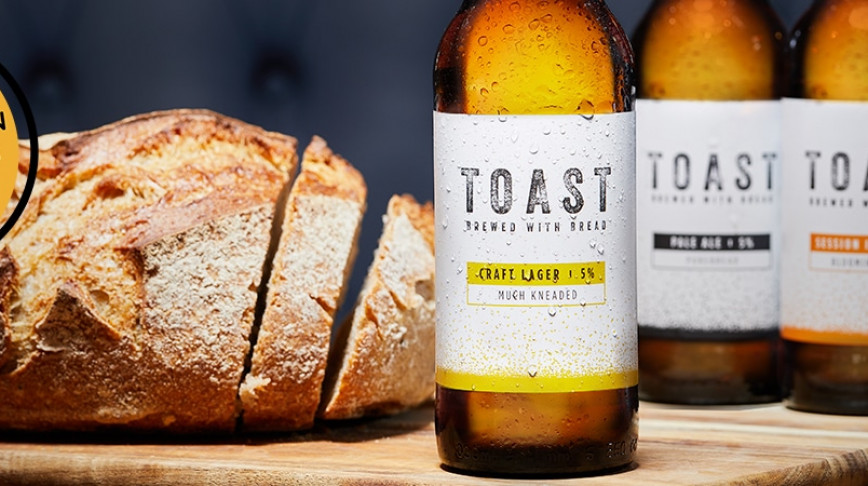 Visual of Turning surplus bread into craft beer