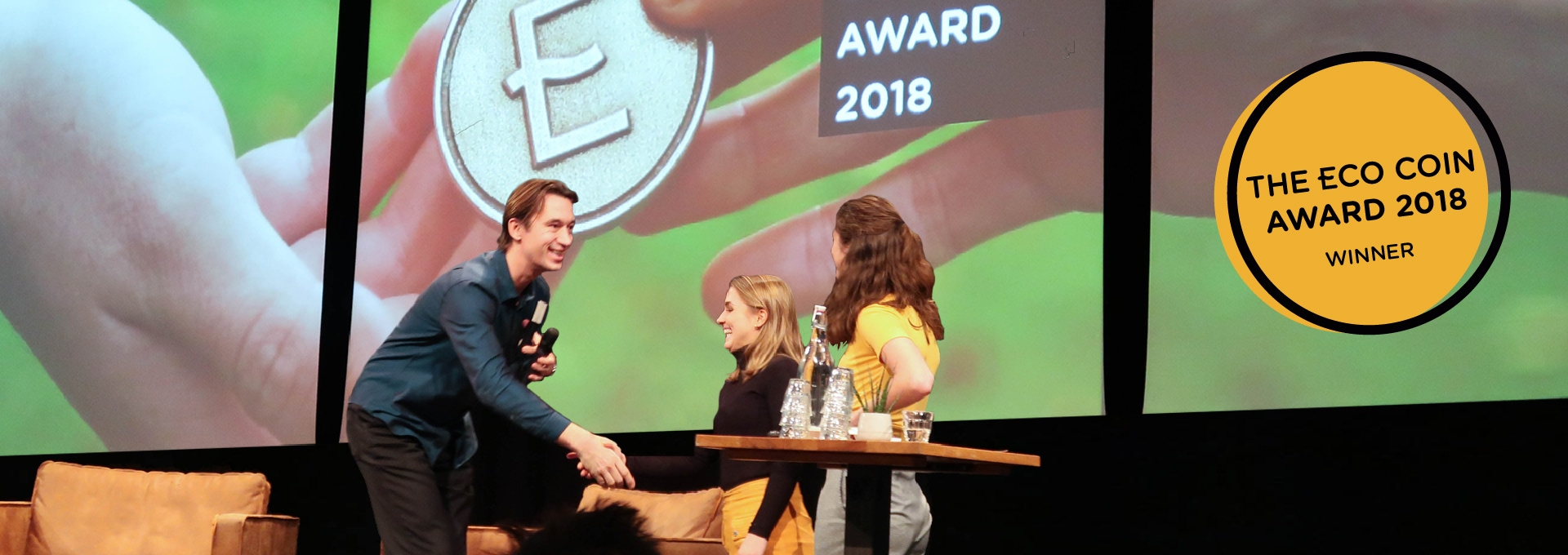 Visual of Elzelinde van Doleweerd wins the ECO Coin Award 2018