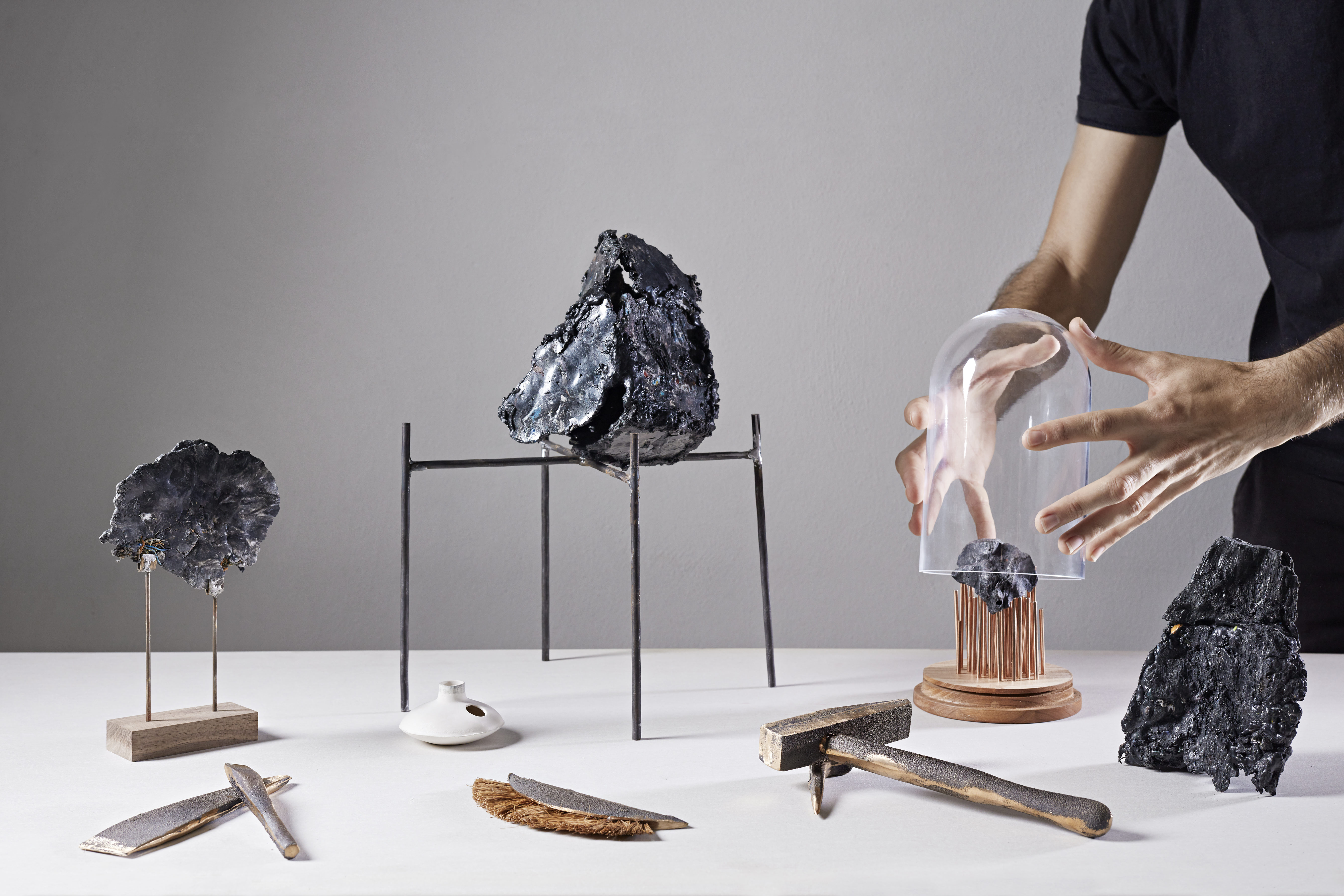 Visual of Interview: Designer Shahar Livne is geomimicing the future of plastics